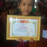 Nghị lực vượt khó của cô học trò có hoàn cảnh khó khăn ở trường TH Bình Thạnh